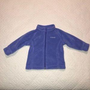 Columbia Fleece Zipper Jacket 6-12M